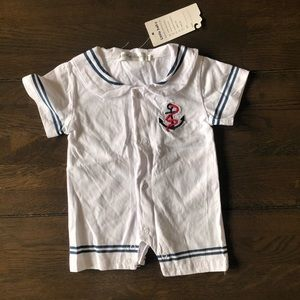 Baby sailor outfit 0000 (tag says medium)
